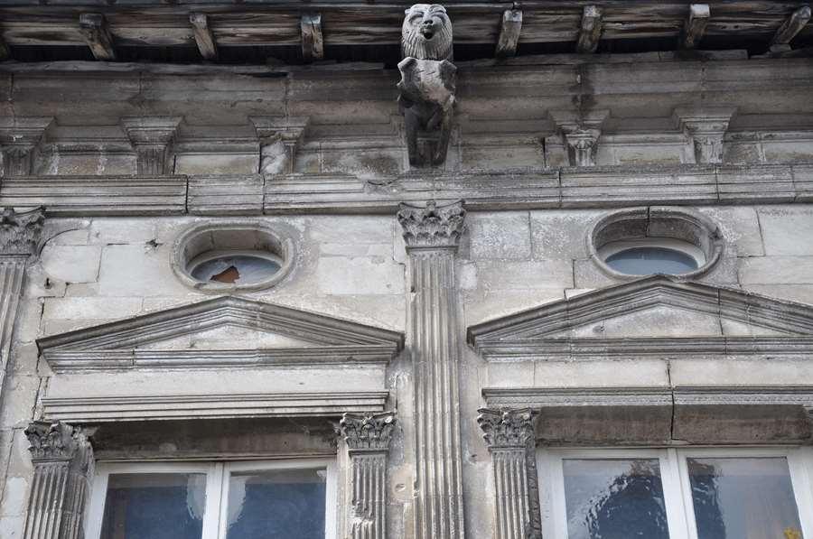 L'Hôtel de Faillonnet (détail)